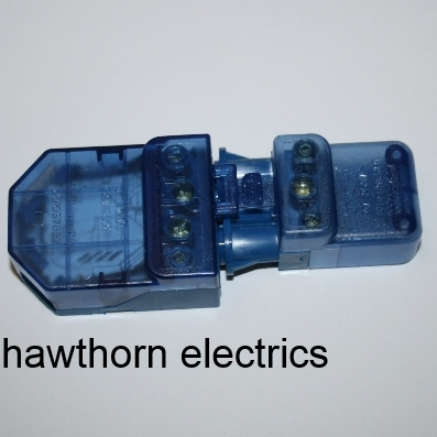 Click CT101C Blue Lighting Junction Box Plug In Connector